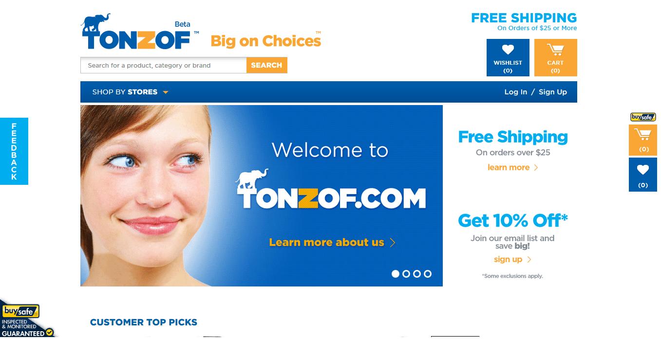 Tonzof.com New Site