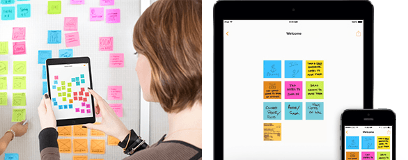 Post-it Plus App Boring Brand to Cool and Exciting