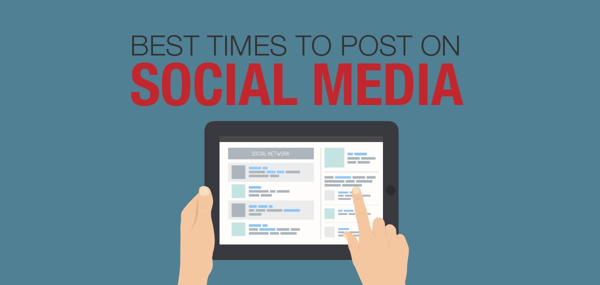 Best Times for Social Media Posts: Facebook, Twitter, LinkedIn, Instagram, Pinterest, Google Plus