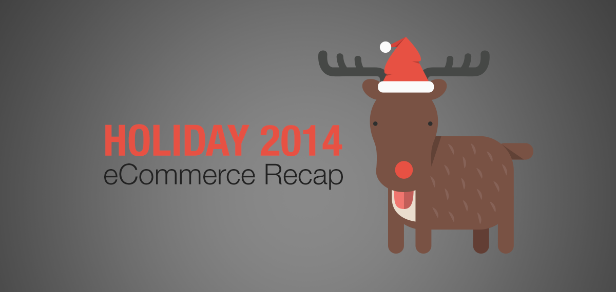 2014 Holiday eCommerce Recap Statistics Infographic