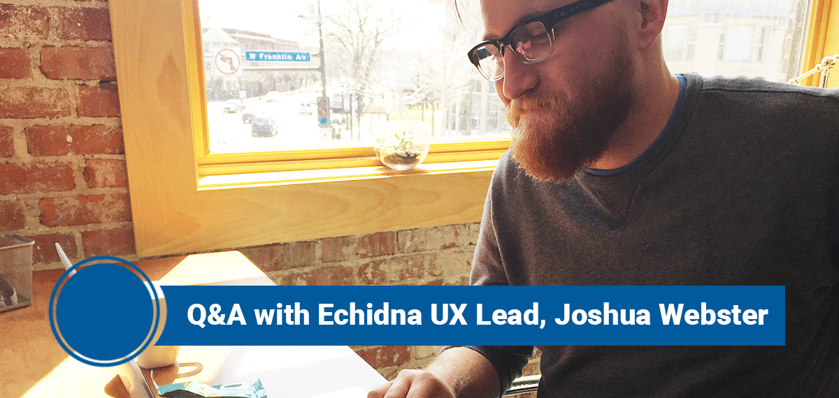 Q&A with Echidna UX Lead Joshua Webster